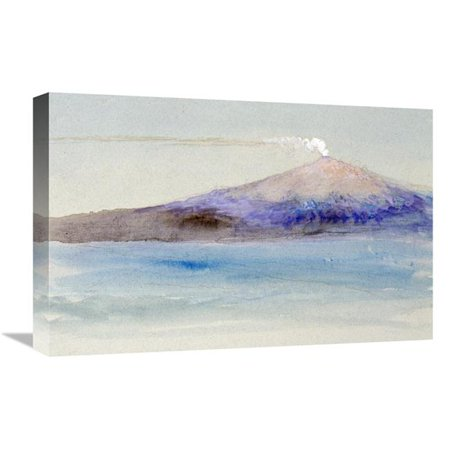 22 in. Etna from Taormina Art Print - John Ruskin