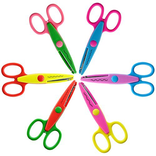 Paper Scissors Stationery Scrapbooking Tools Cutting Supplies School Office
