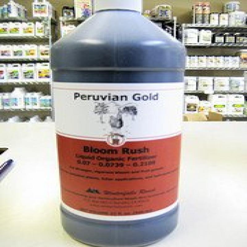 "Peruvian Gold ""Bloom Rush"" Liquid Organic Fertilizer 32oz."