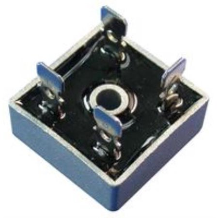 New Brand No.10P1435 Solid State Kbpc5006 Bridge Rectifier, 1Ph, 50A, 600V Qc ()