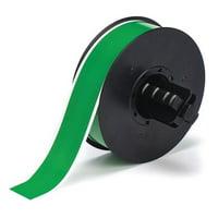 BRADY B30C-1125-569-GN Low Halide Pipe Tape,Green,100 ft. L