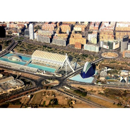 Canvas Print Spain Arts Valencia City Science Stretched Canvas 10 x 14