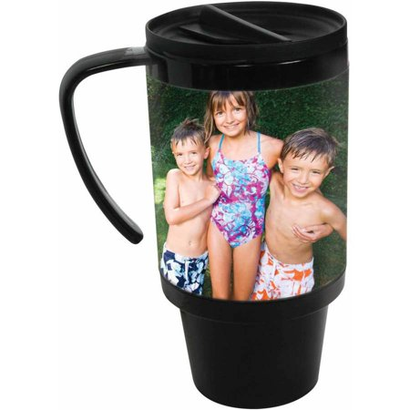 Neil Enterprises Plastic Travel Photo Mug, 4 x 6