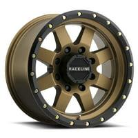 "17"" Inch Raceline 935BZ Defender 17x9 6x5.5"" +0mm Bronze/Black Wheel Rim"