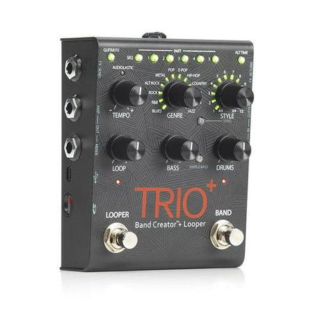 Digitech TRIOPLUS-U Trio Plus Band Creator & Looper Guitar Pedal Digitech Jamman Looper Pedal