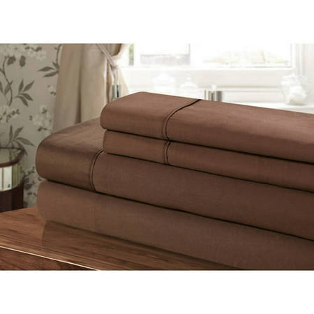 Chic Home Vibra 4 Piece 100 Percent Cotton Sheet Set