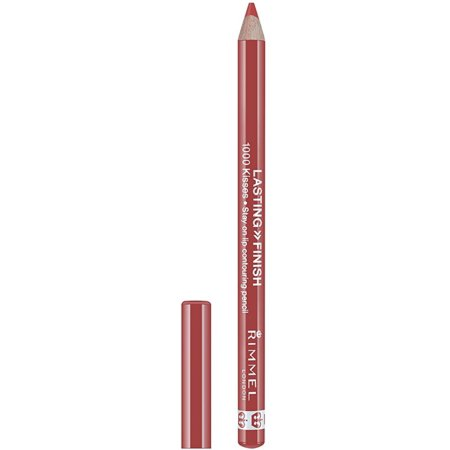 3 Pack - Rimmel Lasting Finish 1000 Kisses Lip Liner, Spiced Nude 0.04 oz
