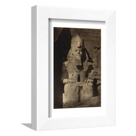 Abu Simbel Temple, 1862 Framed Print Wall Art By Science -