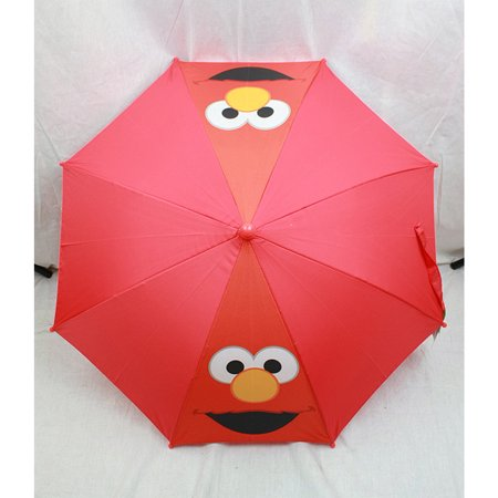 Umbrella - Sesame Street - Elmo Red Face, Kids New Gift Toys 081715555597-r