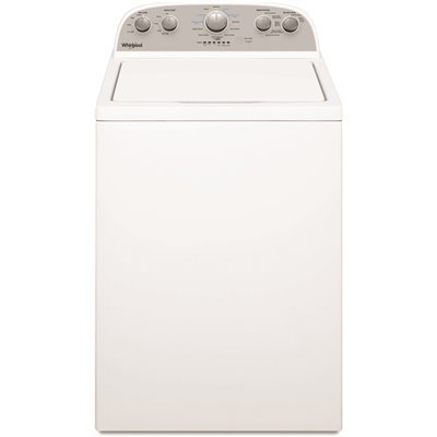 Whirlpool 27.5 in. 3.8 cu. ft. High-Efficiency White Top Load Washing Machine with Soaking Cycles