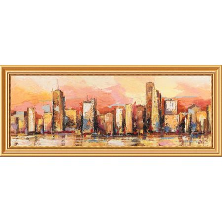 Global Gallery Metropolis I By Luigi Florio Framed Painting Print On Canvas