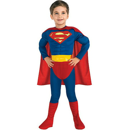 muscle chest superman toddler halloween. Black Bedroom Furniture Sets. Home Design Ideas