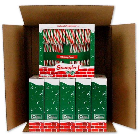 Peppermint Candy Canes 6-18 count boxes - Candy Cane Spoons