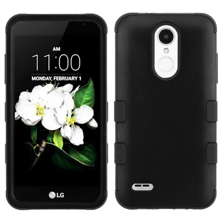 For LG Tribute Dynasty IMPACT TUFF HYBRID Protector Case Skin Phone Cover (Matte (Skin Phone Protector Cover)