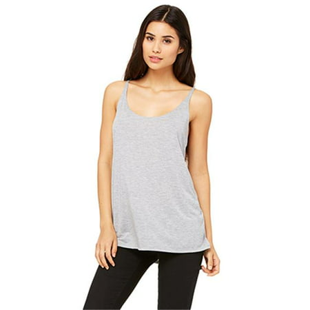 8838 Womens Slouchy Tank - Athletic Heather, Small - image 1 of 1