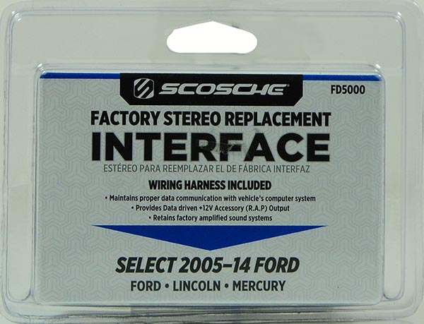 Scosche Select 2005 and Up Ford Stereo Replacement Interface - Walmart.com  sc 1 st  Walmart : scosche wiring harness diagram - yogabreezes.com