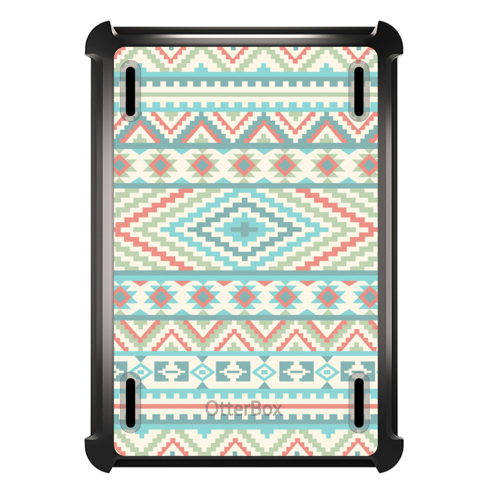 CUSTOM Black OtterBox Defender Series Case for Apple iPad...