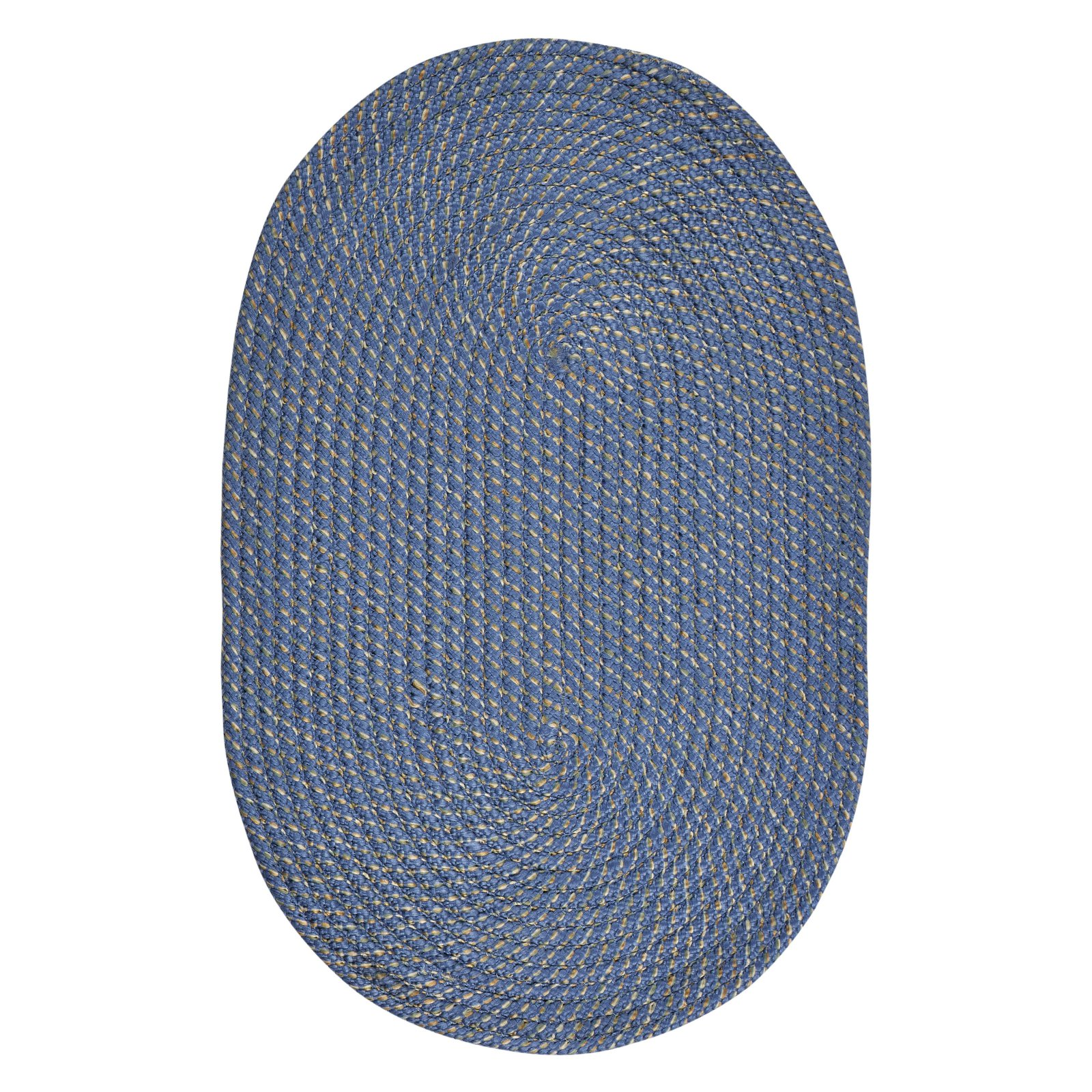 Palm Spring 6' Round Braided Rug Natural by Pan Overseas LLC