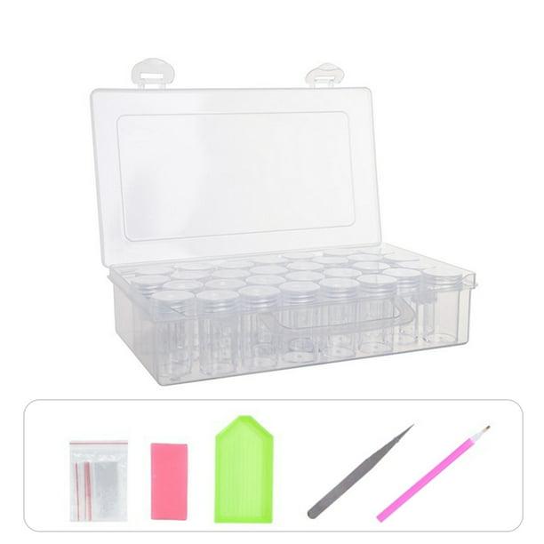 84 Bottles Embroidery Diamond Painting Kit Storage Box Craft DIY Accessories