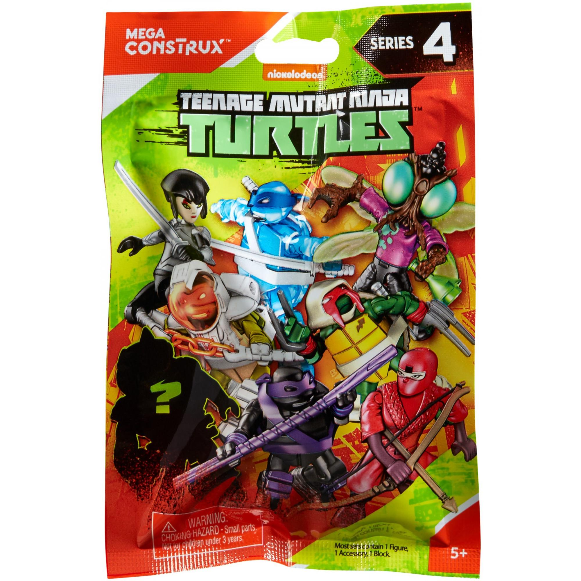 Mega Construx Teenage Mutant Ninja Turtles Micro Action Figures (Styles May Vary)