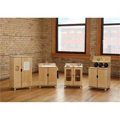 Jonti-Craft Truemodern Play Kitchen - Set of 4
