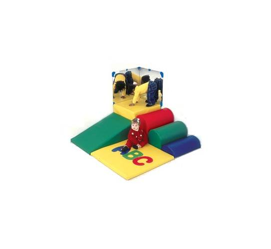 CHILDREN'S FACTORY ABC Soft Mini Corner Toddler Climbing Center, CF300-003