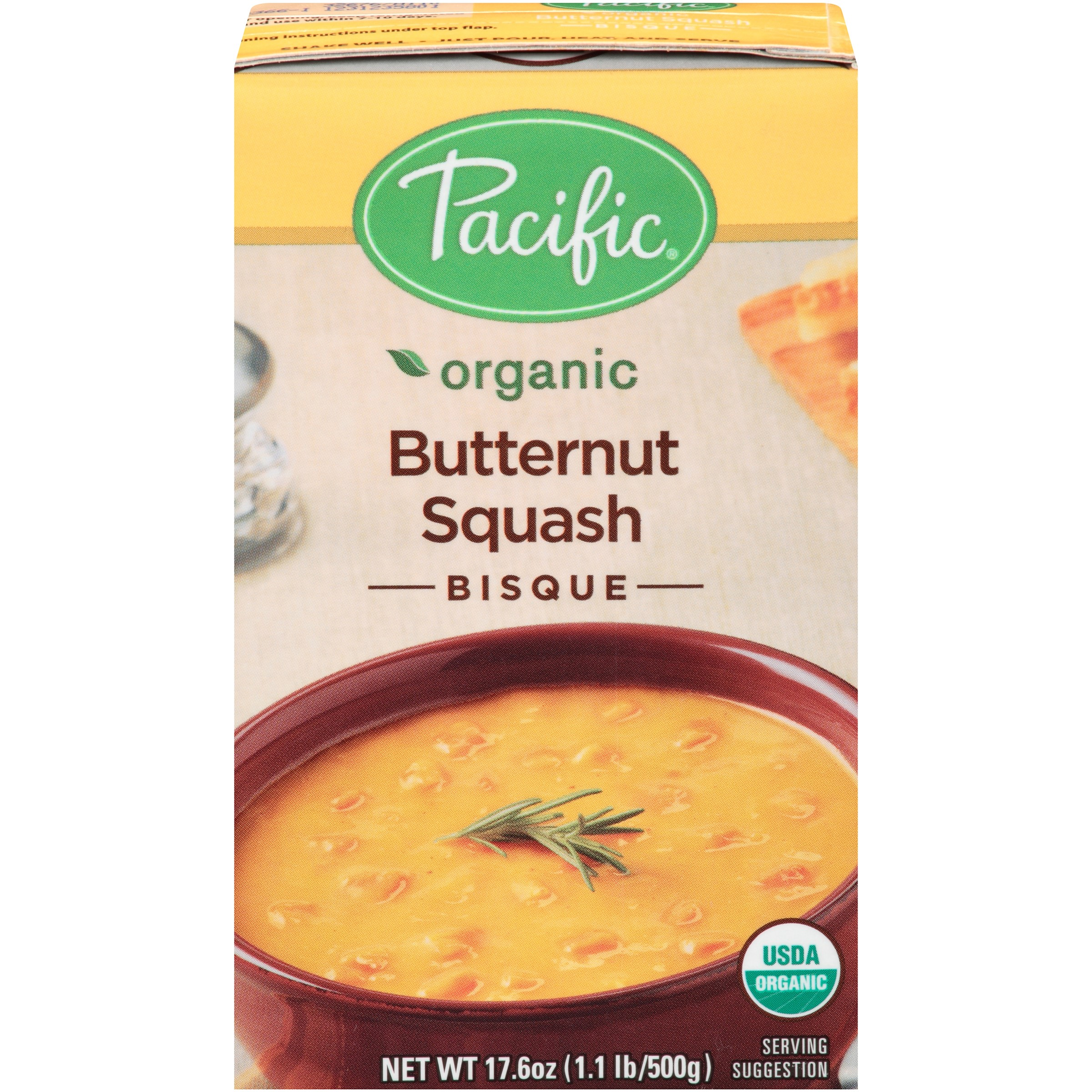Pacific Natural Organic Bisque Butternut Squash, 17.6-Ounces