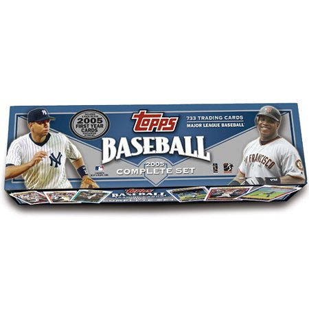 Mlb 2005 Topps Baseball Cards Complete Set