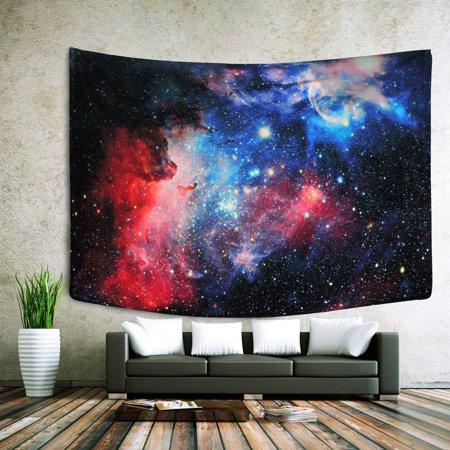 Universe Galaxy Indian Mandala Tapestry Wall Hanging Bohemian Bedspread Decor Black Friday Big Sale - Diy Bohemian Decor