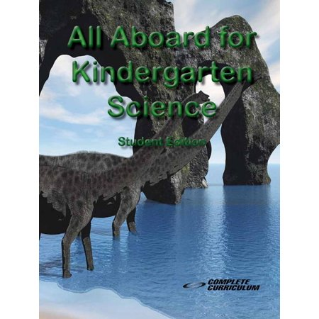 All Aboard for Kindergarten Science - Student Edition - eBook