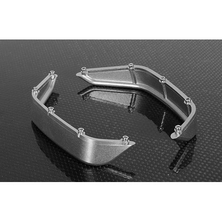 RC4WD Z-S1150 Aluminum Tube Rear Fender for Axial Jeep Rubicon (Silver)