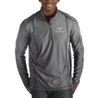 Virginia Tech Hokies Antigua Tempo Half-Zip Pullover Big & Tall Jacket - Charcoal