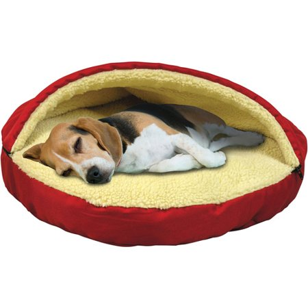 Soft Dog Cat Bed Half Pet House Kennel Doggy Warm Lovely Cushion