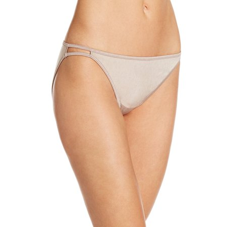 Casablanca Sleeve (Vanity Fair Womens Body Shine Illumination String Bikini, 6, Toasted Coconut)