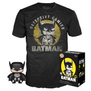 Funko POP & Tee: DC - Batman's 80th Sun Faded - Walmart Exclusive