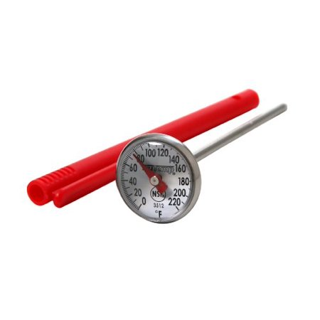 Read Dial Thermometer - Taylor 3512 Precision Instant Read 1-Inch Dial Thermometer