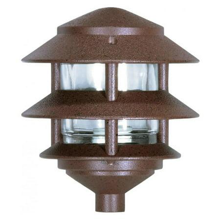 Nuvo Pagoda Small 2 Louver Garden (Louver Lights)
