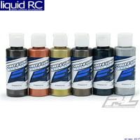 Pro-Line 6323-05 Pure Metal Colors RC Body Airbrush Paint Set 6 Pack 2oz