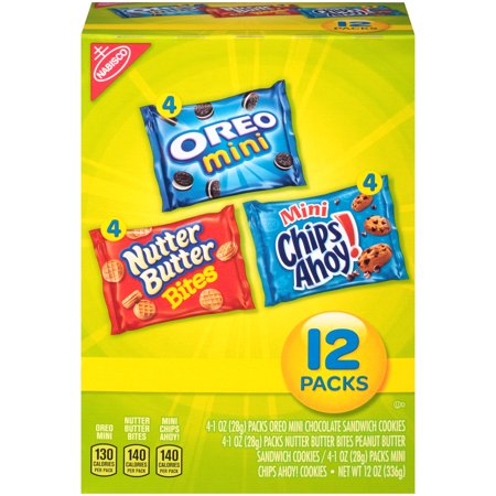 (2 Pack) Nabisco Munch Packs, 12 oz