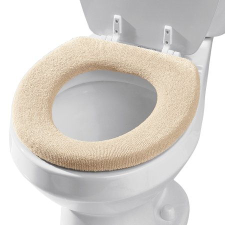 Miles Kimball Ivory Lid And Toilet Seat Cover Set
