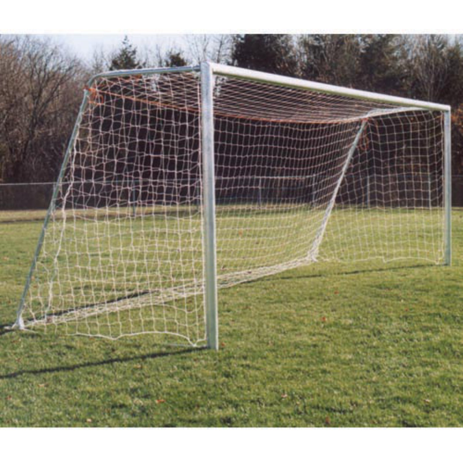 Goal Sporting Goods Unpainted Round Official Soccer Goals - Pair