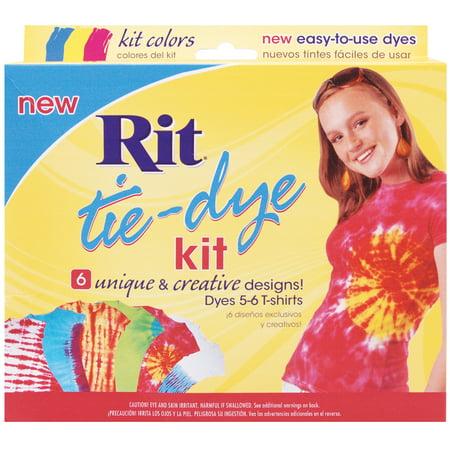 Rit Tie-Dye Kit, Red, Blue, Yellow