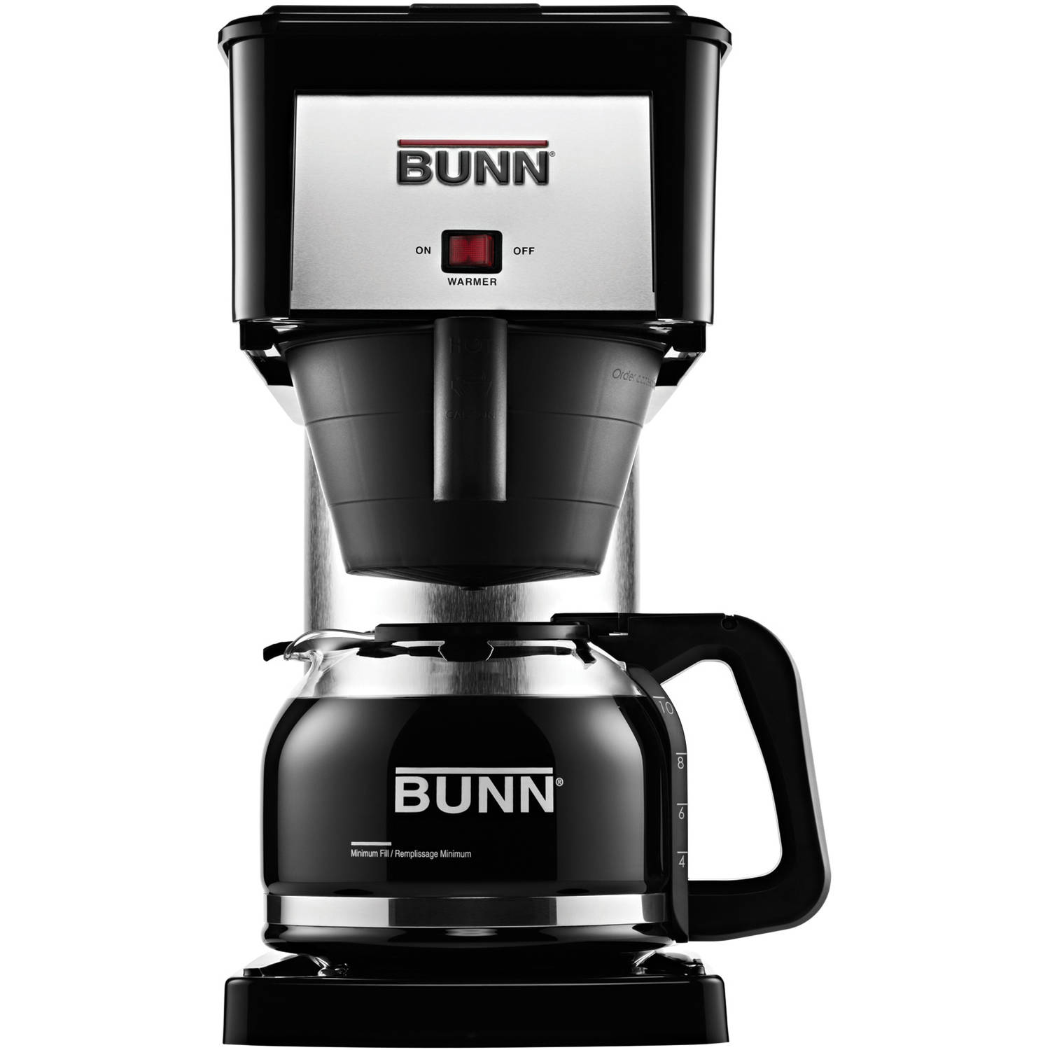 BUNN BX Velocity Brew 10-Cup Coffee Brewer, 38300.0067