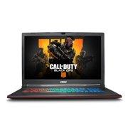 "MSI GP73 Leopard-636 Gaming Laptop 17.3"" 120Hz 3ms, Intel i7-8750H, NVIDIA GeForce GTX 1070 8G, 512GB NVMe SSD + 1TB HDD, 16GB RAM, WIN 10, VR Ready, GP73636 + Free COD4 Black Ops (see details below)"