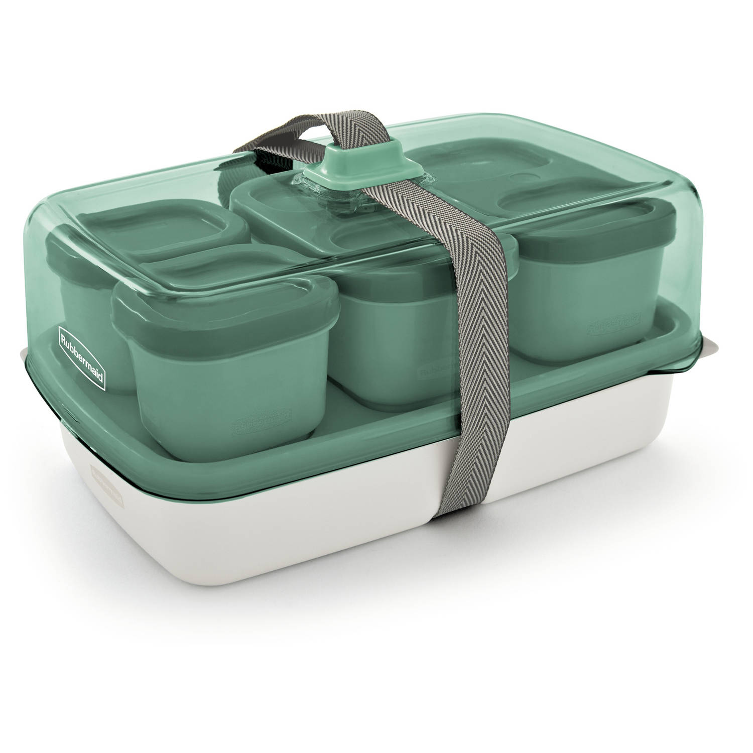 Rubbermaid Fasten + Go Entree/Salad Kit