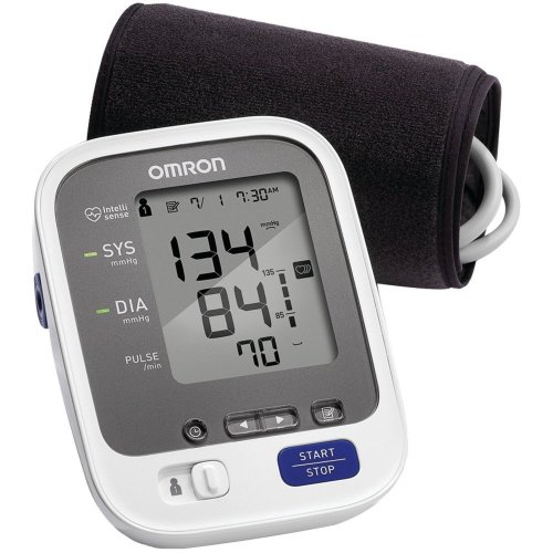 Omron 7 Series Wireless Bluetooth Upper Arm Blood Pressure Monitor with Two User Mode