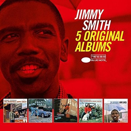 5 Original Albums by Jimmy Smith (CD)