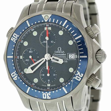 Omega - Omega Seamaster 2298.80. Titanium Watch (Certified Authentic ... 2754a45d9700