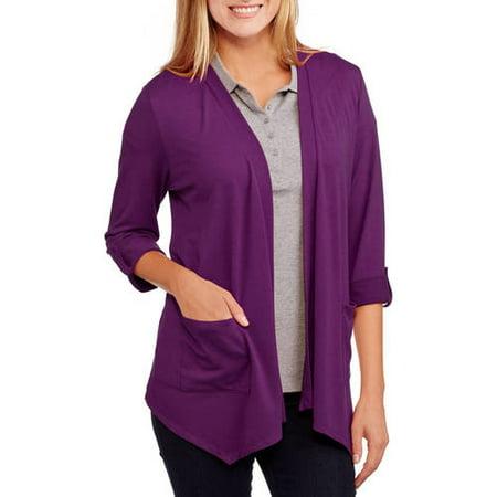 Concepts Women's Soft Knit Flyaway Cardigan