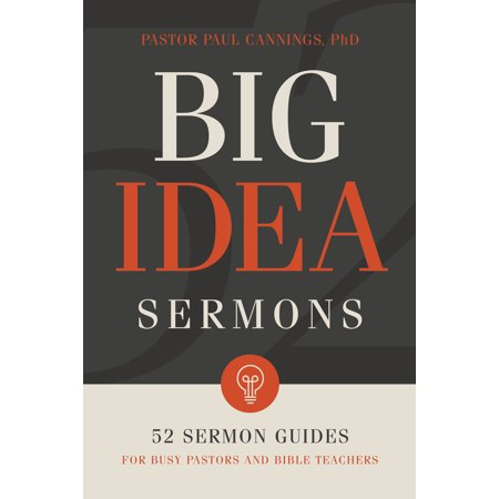 Big Idea Sermons : 52 Sermon Guides for Busy Pastors and Bible Teachers](Halloween Teacher Gift Ideas)